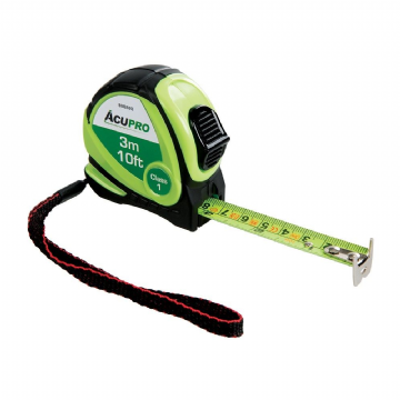 Acupro 888820 Metric & Imperial Tape Measure 3m / 10ft x 16mm